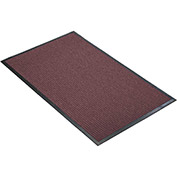 "NoTrax Guzzler 3/8"" Thick Entrance Floor Mat, 4' x 6' Burgundy"
