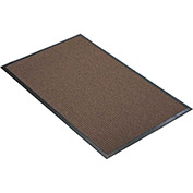 "NoTrax Guzzler 3/8"" Thick Entrance Floor Mat, 4' x 10' Brown"