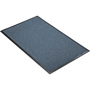 "NoTrax Guzzler 3/8"" Thick Entrance Floor Mat, 4' x 10' Slate Blue"