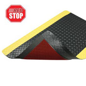 Cushion Trax RedStop Mat - 3' x 5' Black/Yellow