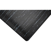 "Akro Marble Tile Grand 1"" Thick Anti-Fatigue Floor Mat, 2' x 3' Black"