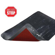 Marble Sof-Tyle Grande RedStop Mat - 3' x 75' Black
