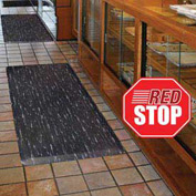Marble Sof-Tyle Grande RedStop Mat - 3' x 12' Grey