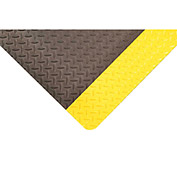NoTrax 990C0036YB - 990 Dura Trax Grande Welding Mat - 3' W - Yellow/Black - Custom Cut