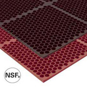 Optimat Safety/Anti-Fatigue Drainage Mat - 3' x 6' - Brown