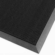 "Finger Scrape Entrance Mat - 16"" x 24"" - Black"
