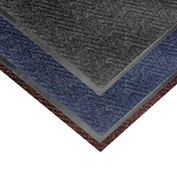 Chevron Heavier Weight Carpet Mat - 2' x 3' Dark Brown