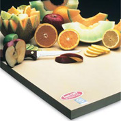 "Sani-Tuff® All-Rubber Cutting Board - 8"" x 8"" x 1/2"""