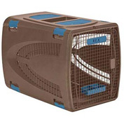 "Portable Dog Carrier Square 36"" x 24"" - Light Taupe"