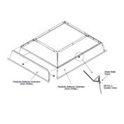 SunStar Parabolic Reflector Extension - 41690123 For 100,000 to 120,000 BTU Ceramic Heaters