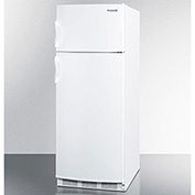 "Summit CP133 - 2 Door Refrigerator-Freezer, Cycle Defrost, Slim 24""W, 9.5 Cu.Ft."