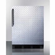 "Summit CT663BDPL - Freestanding Counter Height Refrigerator-Freezer, 5.1 Cu. Ft., 24"" Wide"