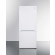 Summit FFBF100W Frost-Free Refrigerator/ Bottom Freezer 10.2 Cu. Ft. White
