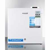 Summit FS24L7MEDDT Compact Commercially Listed Medical Freezer, Digital Thermostat, 1.4 Cu. Ft.