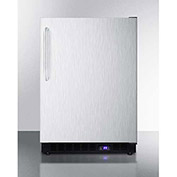 "Summit SCFF53BXCSSTB - Frost-free Built-in Undercounter All-Freezer, SS, 4.72 Cu. Ft, 23-5/8""W"