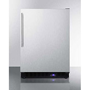 "Summit SCFF53BXSSHV - Frost-free Built-in Undercounter All-Freezer, SS, 4.72 Cu. Ft, 23-5/8""W"