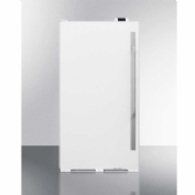 Summit Appliances SCUR18NCLHD Commercial All Refrigerator 16.7 Cu. Ft. White