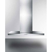 "Summit SEH4748C - Wall-Mounted Range Hood, Stainless Steel, 19-3/4"" x 47-1/4"" x 28"""