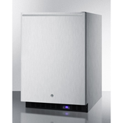 Summit SPFF51OSCSSHHIM - Outdoor Freezer W/Ice Maker, Built-In/Freestand, S/S, Lock, Digital TSTAT