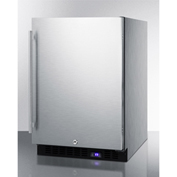 Summit SPFF51OSCSSIM - Outdoor Freezer W/Ice Maker, Built-In/Freestand, S/S, Digital TSTAT, Lock