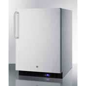 Summit SPFF51OSCSSTBIM - Outdoor Freezer W/Ice Maker, Built-In/Freestand, S/S, Digital TSTAT, Lock