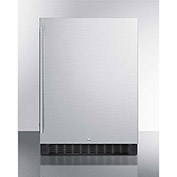 "Summit SPR627OS - Outdoor Refrigerator, Built-In Use, 4.6 Cu. Ft., Lock, Stainless Steel, 23-5/8""W"