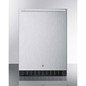 """Summit SPR627OSSSHH - Outdoor All-Refrigerator For Built-In Use W/Lock, Stainless Steel, 23-5/8""""W"""