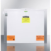 Summit VT125IB Laboratory Chest Freezer with Dual Blue Ice Banks, -30&176; Capable Temp, 16 Cu.Ft.