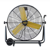 "Master 30"" Direct-Drive High Velocity Floor Fan MAC-30-DDF-B, 120V, 8500 CFM"