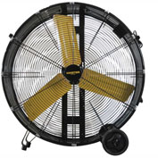 "Master 30"" Direct Drive Portable Barrel Fan MAC-30W-DDF, 120V, 5500 CFM"