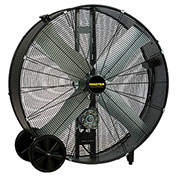 "Master 42"" Belt Drive Portable Barrel Fan MAC-42-BDF, 120V, 13300 CFM"