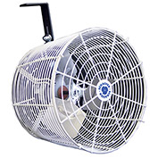 "Versa-Kool 12"" Circulation Fan VK12, w/Tapered Guards, Cord & Mount, 115/230V, 1470 CFM"