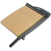 "Swingline® ClassicCut® Pro Guillotine Trimmer, 12"" Cutting Length, 15 Sheet Capacity, Oak"