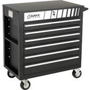"Sunex Tools 8057BK 34-1/2"" Heavy Duty Professional Black Tool Cabinet"