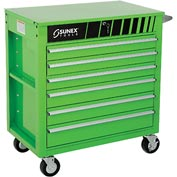"Sunex Tools 8057G 34-1/2"" Heavy Duty Professional Green Tool Cabinet"