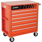 "Sunex Tools 8057O 34-1/2"" Heavy Duty Professional Orange Tool Cabinet"