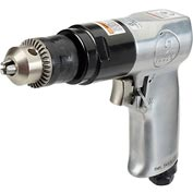 "Sunex Tools SX223 3/8"" Air Drill with Chuck, Reversible"