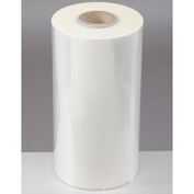 "Polyolefin Shrink Film 24""W x 1,310'L 200 Gauge Clear, High-Flexibility Anti-Fog"