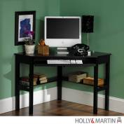 Holly & Martin 55016020601 Alexander Corner Computer Desk-Black