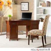 Holly & Martin 55143020625 Holly & Martin Landon Computer Desk-Brown Mahogany