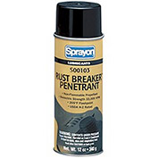 Sprayon LU103 Rust Breaker High-Performance Rust Penetrant, 10 oz. Aerosol Can - s00103000 - Pkg Qty 12
