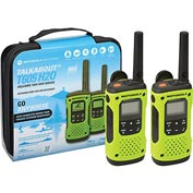 Motorola Talkabout® T605 Waterproof Rechargeable Two-Way Radios - 2 Pack