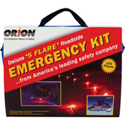 Tapco® 113178 105 Pc. Deluxe 5-Flare Roadside Emergency Kit
