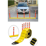 Tapco® 3192-00003 Traffic Guard Portable Speed Bump with Delineators and Reflectors, 10'L