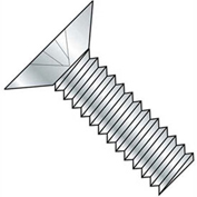 "10-32 x 3/8"" Machine Screw - Phillips Flat Head - Steel - Zinc Plated - Pkg of 100"