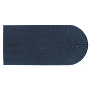 "WaterHog Eco Grand Elite 3/8"" Thick One End Entrance Mat, Indigo 6' x 7'"