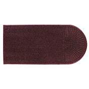 "WaterHog Eco Grand Elite 3/8"" Thick One End Entrance Mat, Maroon 4' x 5'9"""