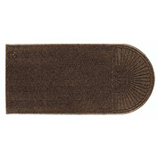 "WaterHog Eco Grand Elite 3/8"" Thick One End Entrance Mat, Chestnut Brown 4' x 18'2"""