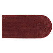 "WaterHog Eco Grand Elite 3/8"" Thick One End Entrance Mat, Regal Red 3' x 5'5"""