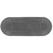 "WaterHog Eco Grand Elite 3/8"" Thick Two Ends Entrance Mat, Gray Ash 3' x 7'1"""
